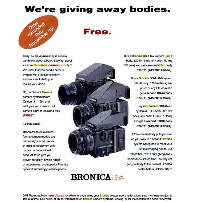 Free Bronnys!